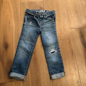Distressed GAP 1969 Girl Jeans, 5T